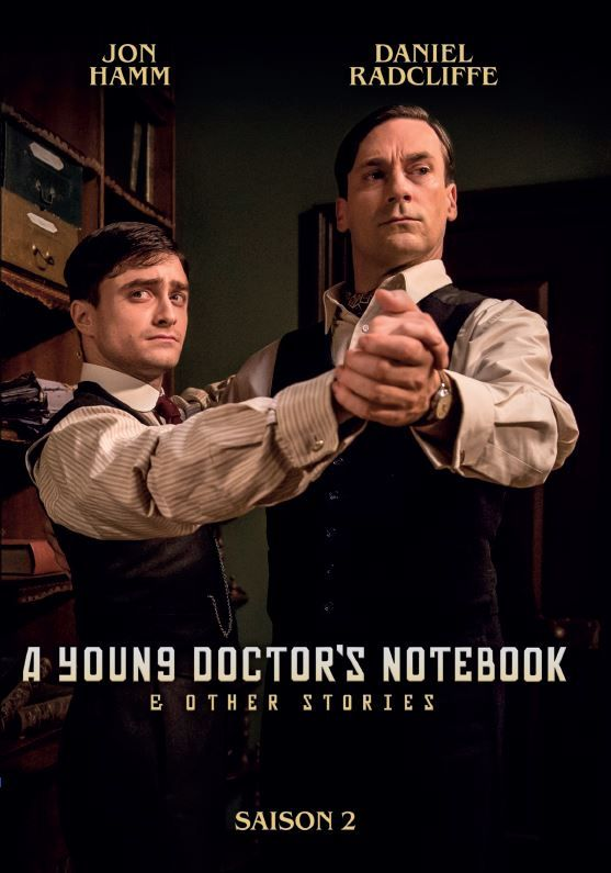 A Young Doctor's Notebook - Saison 2  (disponible en DVD le 7 octobre) http://www.editionsmontparnasse.fr/p1642/A-Young-Doctor-s-Notebook-and-other-stories-saison-2-DVD