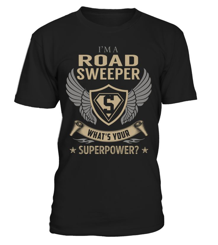 Road Sweeper - What's Your SuperPower #RoadSweeper