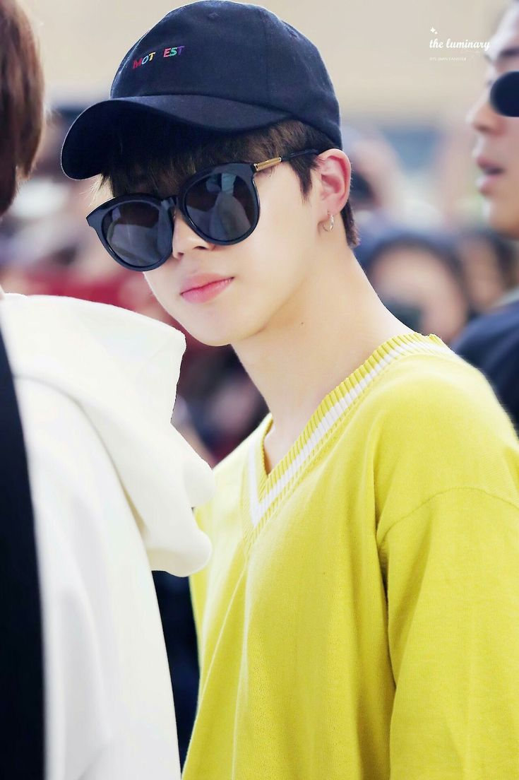 Jimin in yellow - a concept