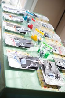 Mad Science Birthday Party - Kids Experiment Table