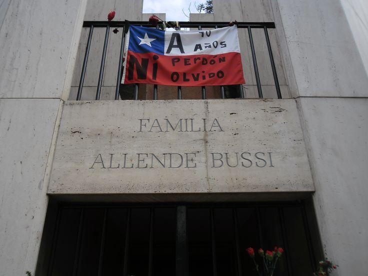 Mausoleo del la Familia Allende Bussi, 2013