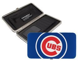 CHICAGO CUBS MLB GAMEDAY SHELL MESH WALLET BY LITTLE EARTH