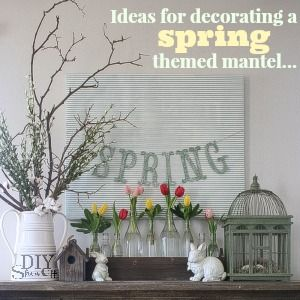 Best Spring Hearth Mantel Ideas Images On Pinterest Mantle