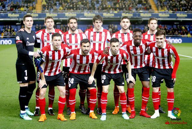 EQUIPOS DE FÚTBOL  ATHLETIC CLUB DE BILBAO contra Villarreal 09 04 2018 Liga 025a43374cc8f
