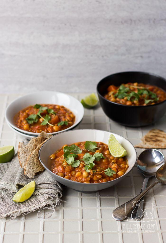 Prosta wersja wege. Narodowa marokańska zupa, gęsta, pożywna i bardzo zdrowa. Sprawdź przepis!