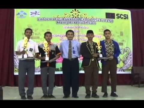 System Information Expo 2015 Tetapkan Pemenang Lomba
