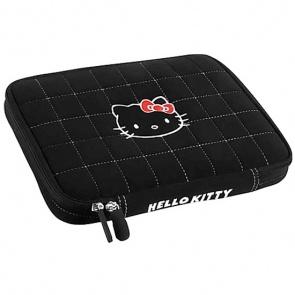 """Geanta Laptop Hello Kitty HKSK15BL Black pentru Laptop 15"""""""
