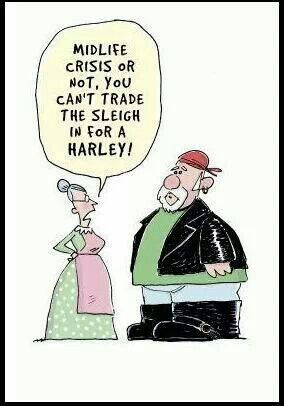 Mr & Mrs Claus--- Because I already spent the dough on a Harley of my ... Naughty Santa Claus Costume For Men