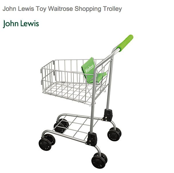 And a Waitrose shopping trolley. | 19 Of The Most Ridiculously Posh Children's Toys