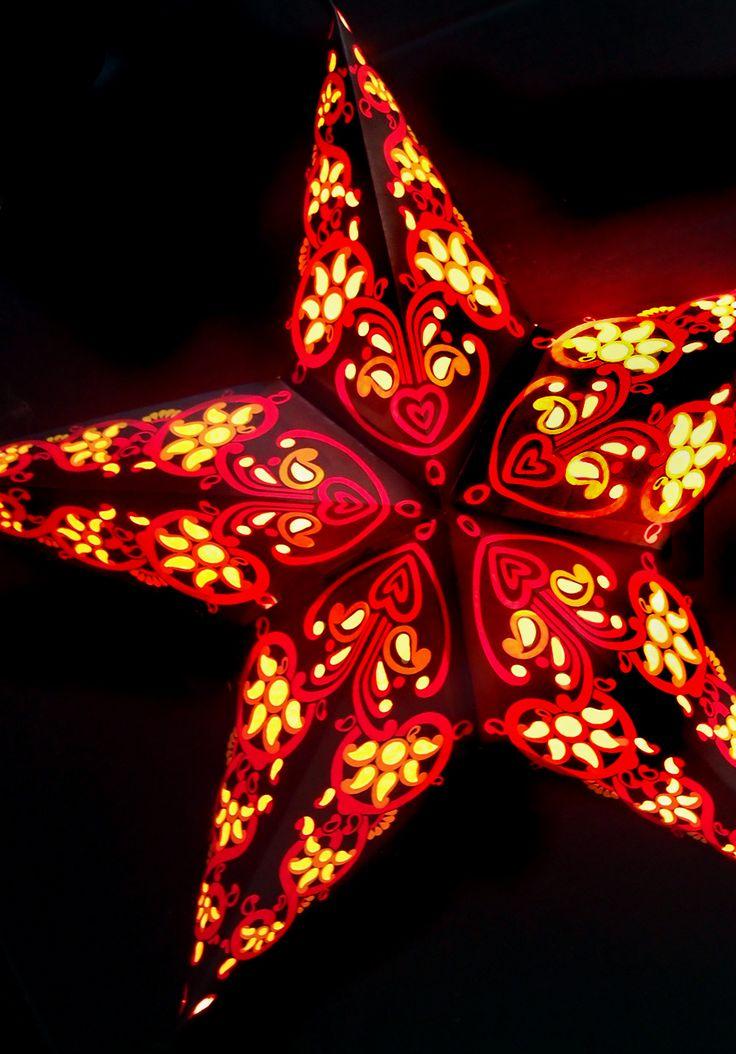 1000 Ideas About Star Lanterns On Pinterest Paper Star