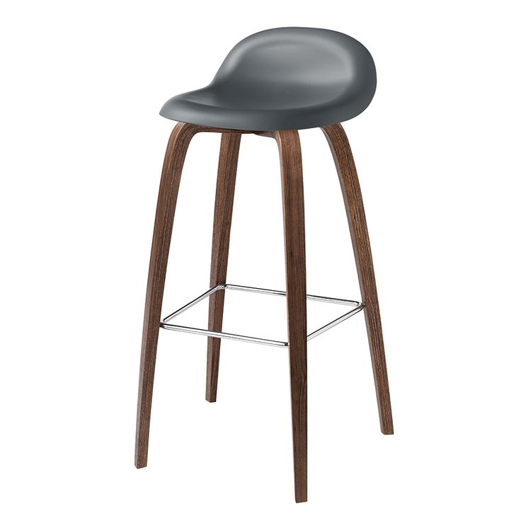 Gubi 3D Bar Stool