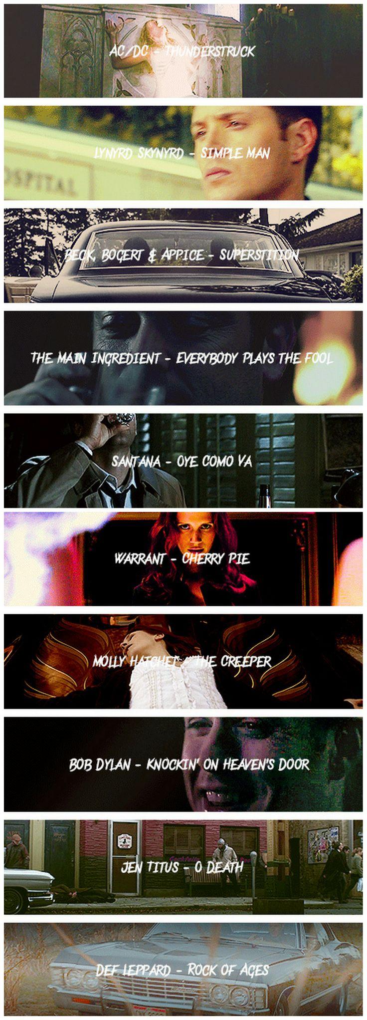 [gifset] Supernatural soundtrack season 5