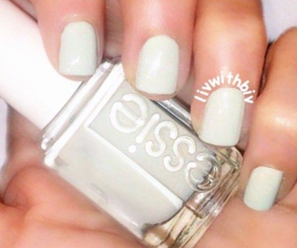 Essie Absolutely Shore. Ulta has this color for $4.97 in stores right now!!! #essie #ultabeauty #ulta by livwithbiv