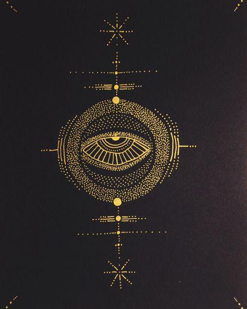 Penabranca / Sacred Geometry / Illuminated Eye / Esoteric / Occult Symbol / Mystery Schools / Sigil