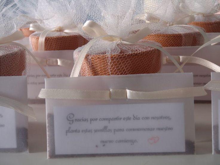 FS013 Maceta con semillas, Bridalshop Argentina