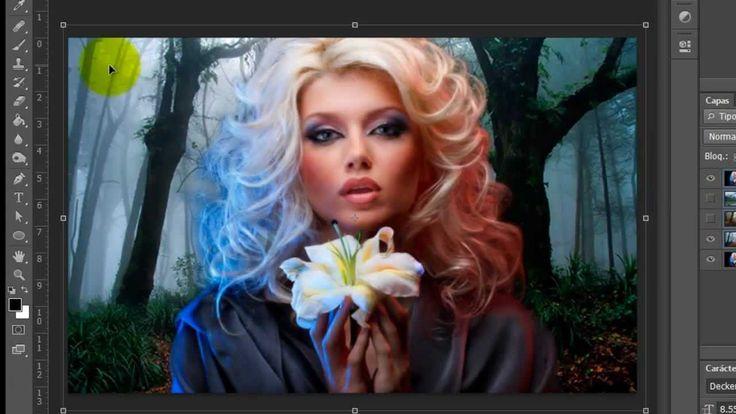 Cambiar el Fondo de una Imagen Photoshop Cs6