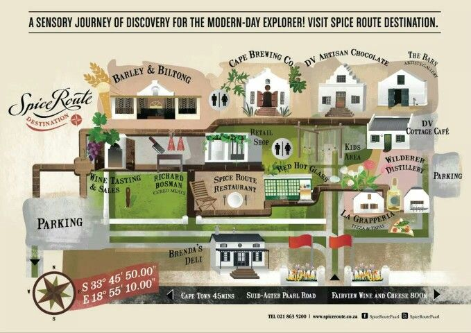 'Spice Route' in Paarl - what a great destination to spend a morning or afternoon! #SpiceRoute #Paarl