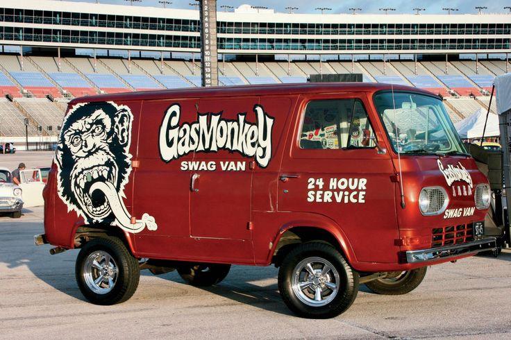 lone star econoline gas monkey garage apache truck van. Black Bedroom Furniture Sets. Home Design Ideas