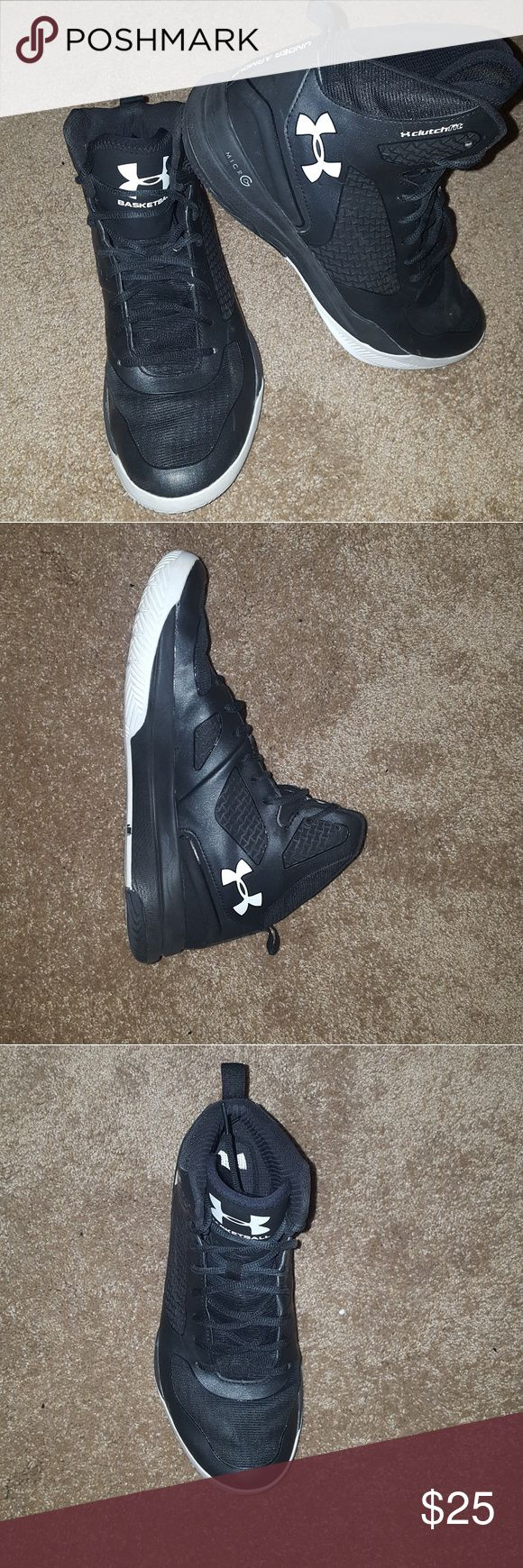 Under Armor Basketball Shoes In great condition, have great traction still, and we're only used a few times!!! Under Armour Shoes Athletic Shoes
