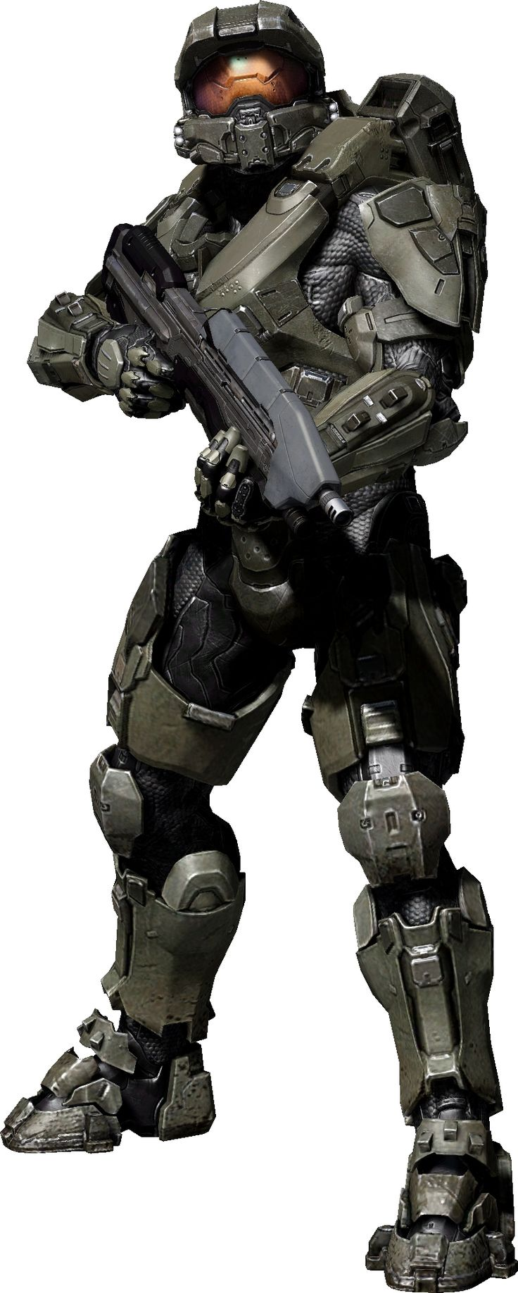 Master Chief's suit in Halo 4. I think I like this one the best