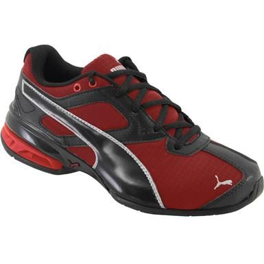 Puma Tazon 6 Ripstop Youth Running Shoes - Boys Barbados Cherry Puma Black