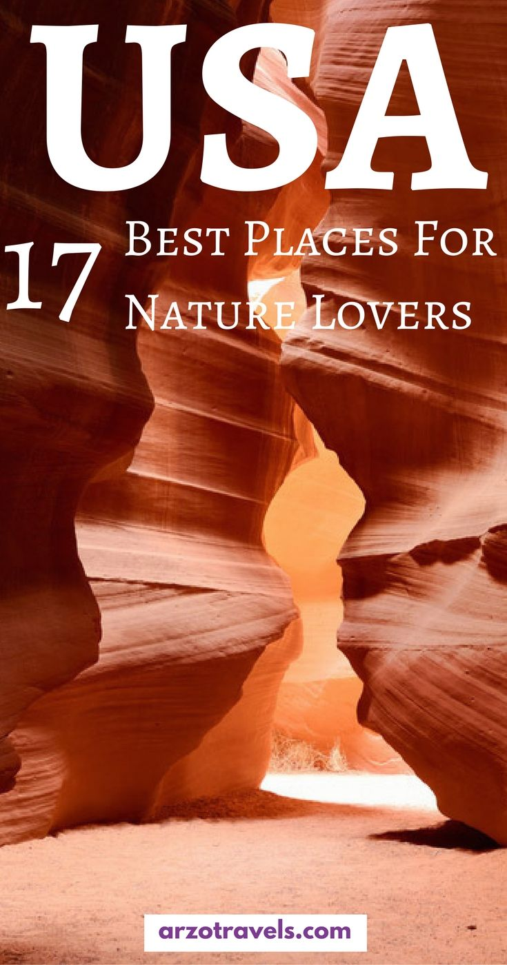 Find out about the best places to visit as an outdoor lover in the US - from national parks to stunning beaches. I Where to go in the US I Most beautiful places in the USA I Best national parks in the USA