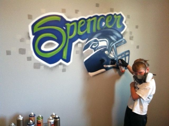 Perfect for any 12th man bedroom or game room! Go Seattle Seahawks! Super  Bowl - 37 Best Spencer's Room Images On Pinterest Seattle Seahawks