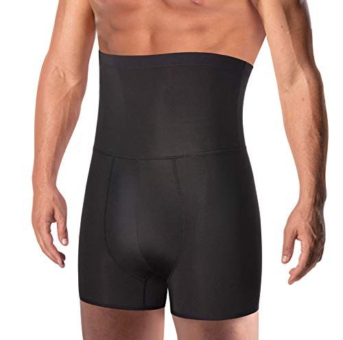 TAILONG Men Tummy Control Shorts High Waist Slimming Underwear Body Shaper Seaml …