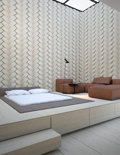 17 besten kleine r ume optimal nutzen bilder auf pinterest arquitetura rund ums haus und bett. Black Bedroom Furniture Sets. Home Design Ideas