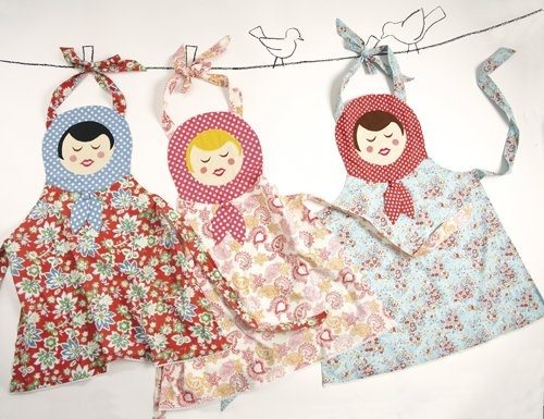 Russian Doll Aprons