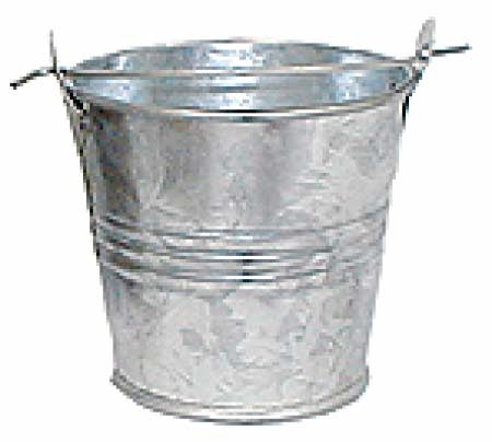 17 best images about galvanized metal for Galvanized well bucket
