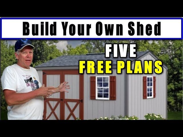 How To Build A Shed Fully Detailed Plans I Ll Show You An Easy Way To Build A Shed Yourself Shed Plans Detailed Plans Building A Shed