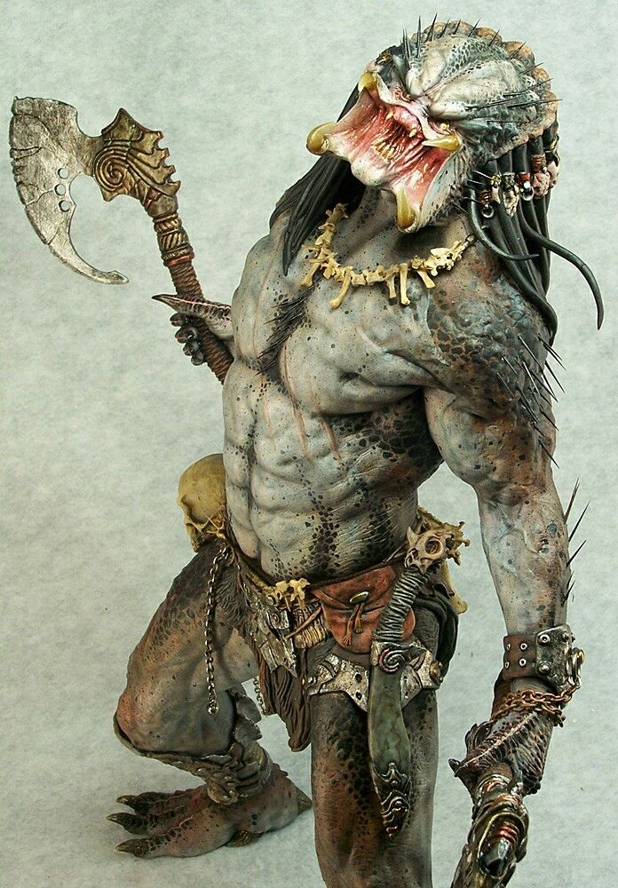 Preditor with axe