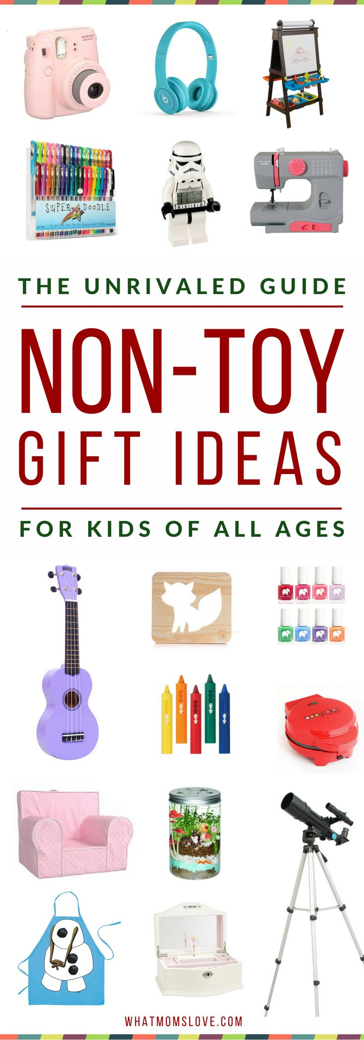 Best Non-Toy Gift Guide For Kids - Holidays Birthdays