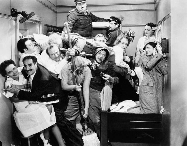 marx brothers -This scene in A Night at the Opera is funnier every time I watch it!