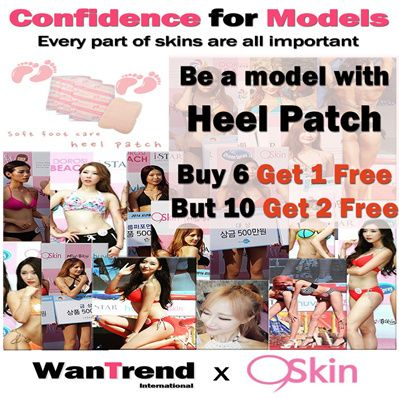 [S$10.13](▼44%)▶WanTrend◀Special Event High Quality Heel Patch / Foot Care / Foot Mask Booming in Korea / 6 + 1 Free / 10 + 2 Free