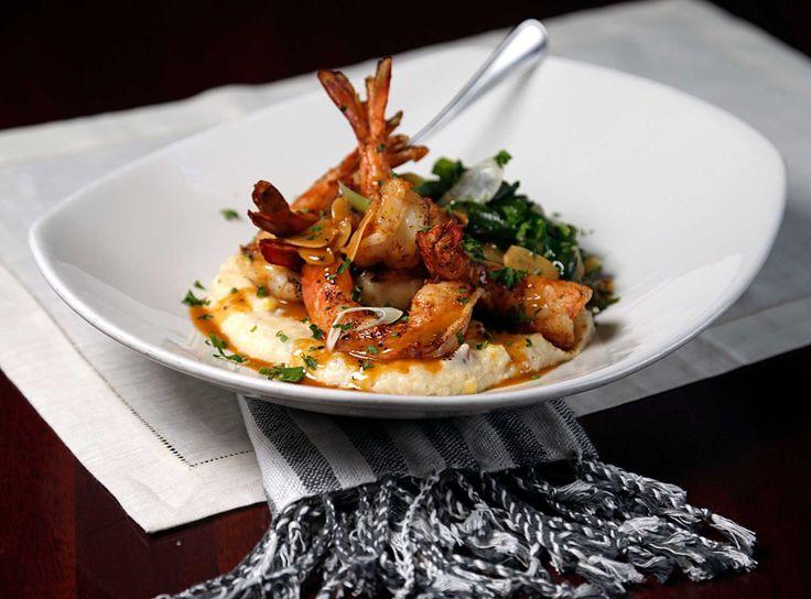 Pappadeaux Recipes: Gulf Shrimp & Grits courtesy of Pappadeaux