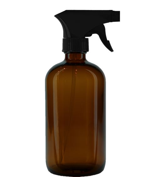 16oz Amber Glass Spray Bottle