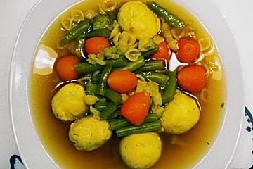 Anklicken zum Vergrößern von Grießklöße für Suppen