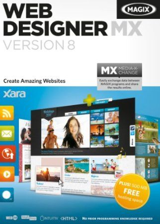 Experience the combination of graphic design, image optimization, limitless customization options and publishing in one single product.  Web Designer includes customizable web graphic, webpage and website template designs plus tools for creating your own designs, for photo editing (an integrated ultra-fast, non-destructive photo tool), and for advanced text layout.  Working with industry standards is vital, so Web Designer sites are W3C compliant, cross browser compatible   Price: $49.99