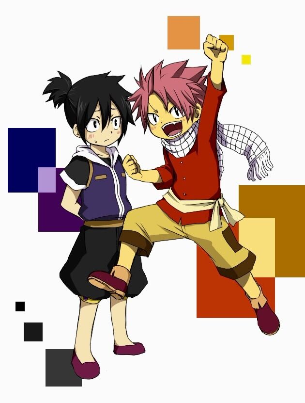 Zeref Dragneel and Natsu Dragneel as Children | FAIRY TAIL ...