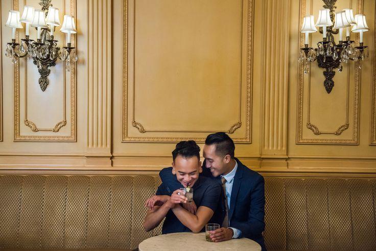 Elegant engagement photos {Spotlight Studios} same-sex engagement   engagement session   gay engagement photos   lgbt