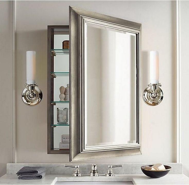 85 Easy And Elegant Bathroom Mirrors Design Ideas Bathroom Mirror Design Bathroom Model Elegant Bathroom