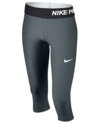 Nike Girls' Pro Cool Capri Leggings | macys.com