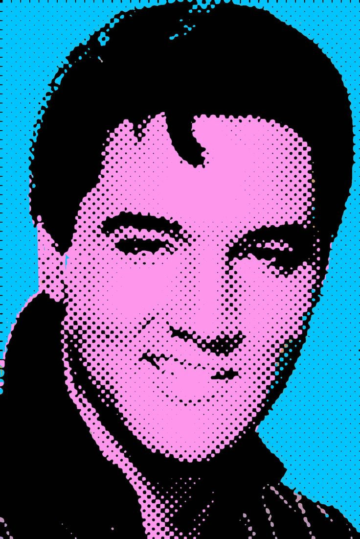 Original Elvis Presley Pop Art / Graffiti / Fashion Print. £4.99, via Etsy.