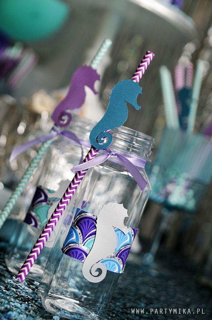 Urodziny Małej Syrenki Mermaid Party Dekoracje personalizowane na każdą okazję!