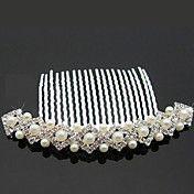Gorgeous Rhinestone With Imitation Pearls