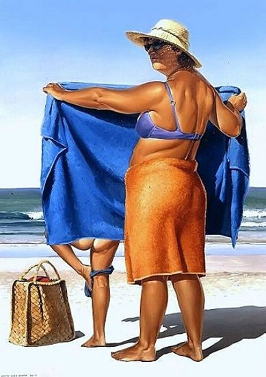 """Barry Ross Smith (New Zealand) ~ """"the changing room"""""""