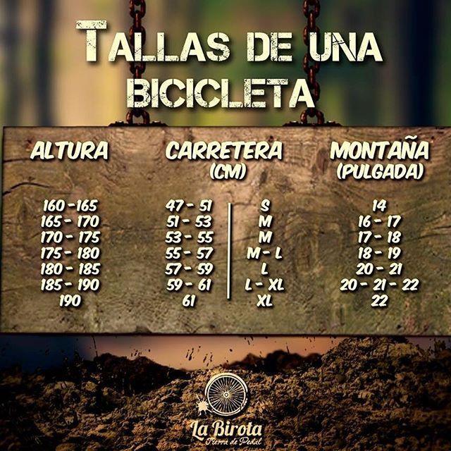 A la hora de comprar una bicicleta, ya sea de carretera o montaña, es importante elegir la talla, para mayor comodidad, rendimiento, evitar dolores y lesiones. #ARodar #TierraDePedal #bicicleta #bikelife #infographic #tallasbicicletas #bicidemontaña #aventura #naturaleza #Puebla #tlaxcala #cdmx