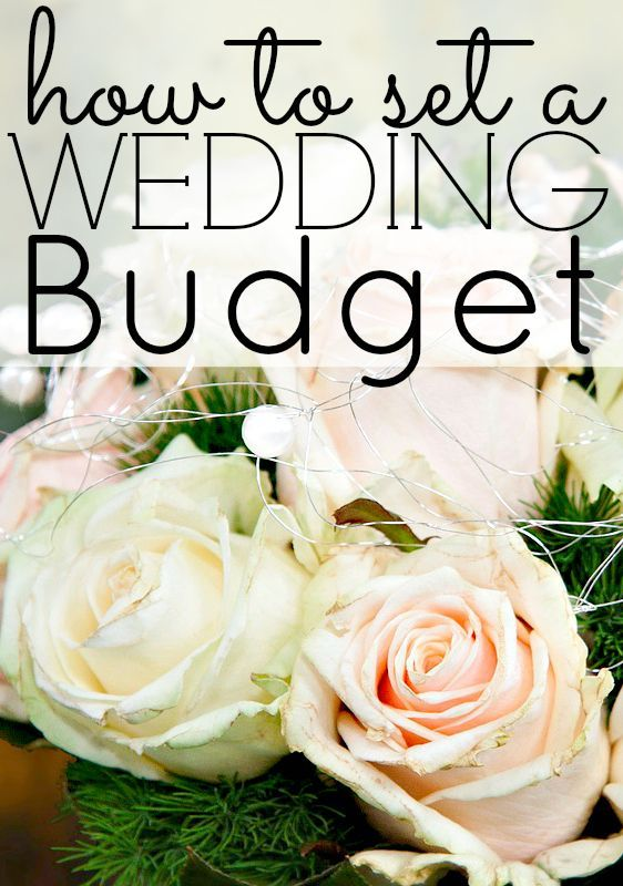 How to Set a Wedding Budget – Part 1. Did you know that the average wedding costs $26,000 (some even say higher!, see this article)? When I first heard that wedding budget number, I was shocked. That's almost the same amount that I owed in student loans after my undergraduate degree. That could be used as a down-payment on a house, or to buy a car outright!